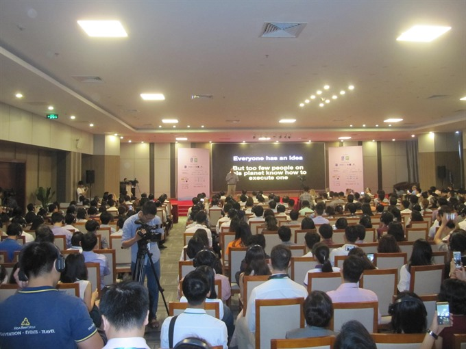 Major start-up conference exhibit opens in Đà Nẵng