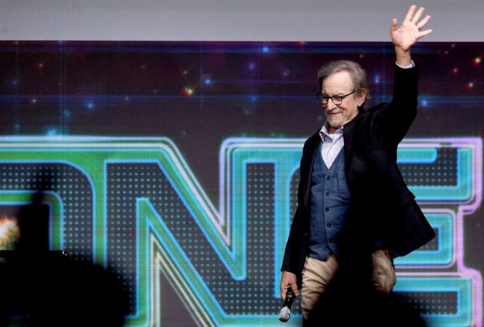 Spielberg debuts Ready Player One footage at Comic-Con