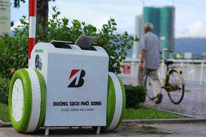 Smart bins in Đà Nẵng