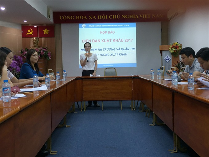 HCMC to host export markets forum