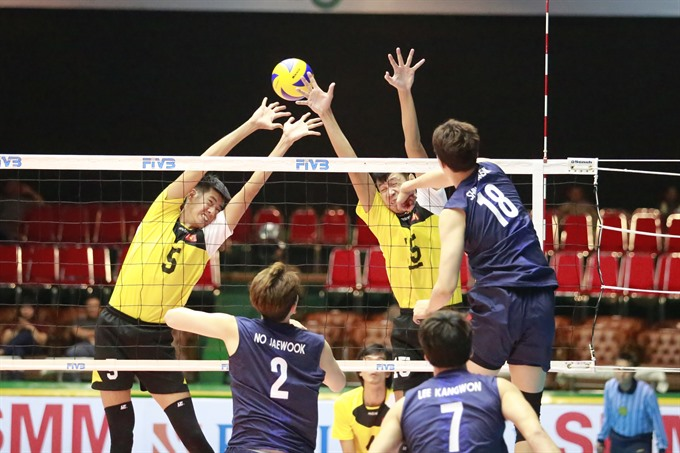 VN lose first match of Asian volleyball tourney