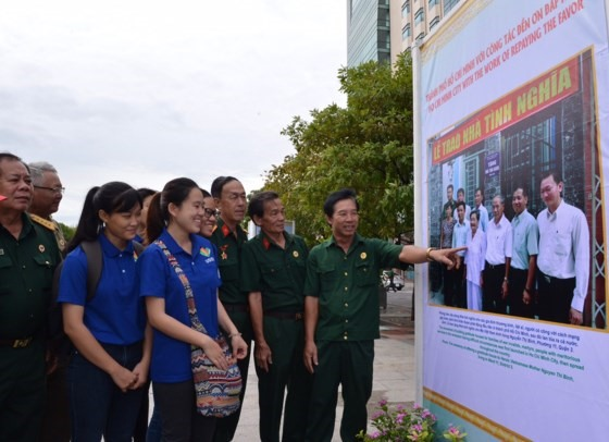 Photo exhibition marks 70th War Invalids and Martyrs Day