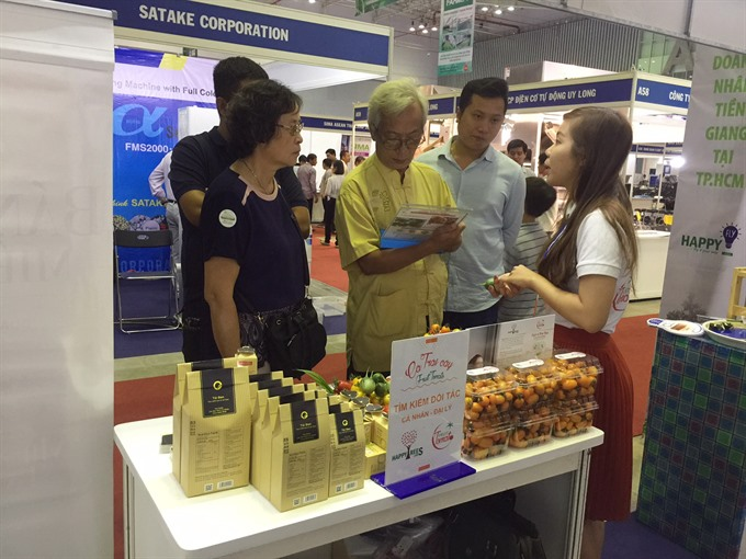 International farm food and agricultural machinery expos open in HCM City