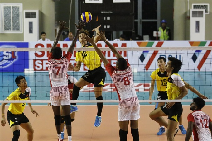 VN secure first win in Asian volleyball championship