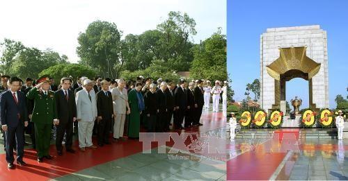 Fallen soldiers war invalids honoured at solemn ceremony