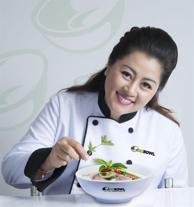 Brand ambassador spreads the love for Vietnamese cuisine