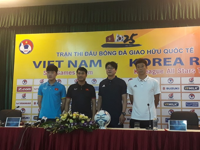 Việt Nam K League All Stars hoping for competitive high quality friendly match in Hà Nội