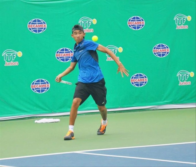 Becamex Cup: Phương in singles semis doubles final