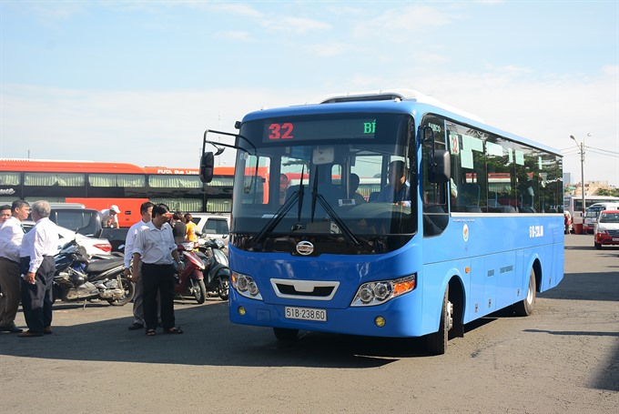 More CNG buses enter service in HCM City