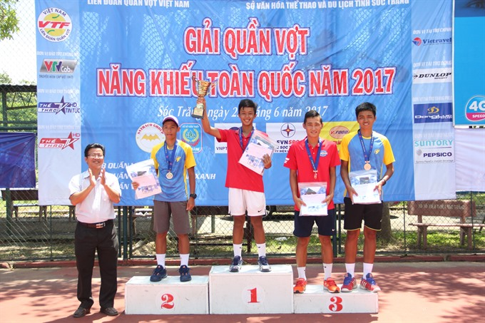 Duy wins U16 title at national champs