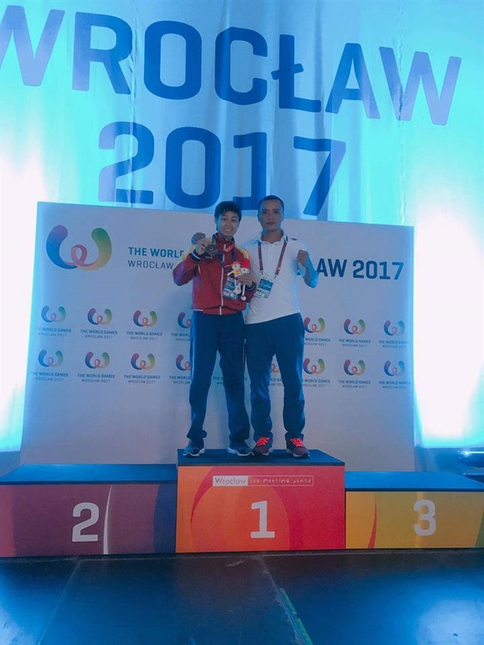 Ly wins World Games muay championship title