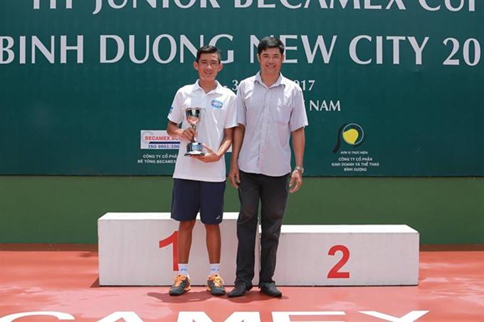 Phương wins Junior Becamex Cup