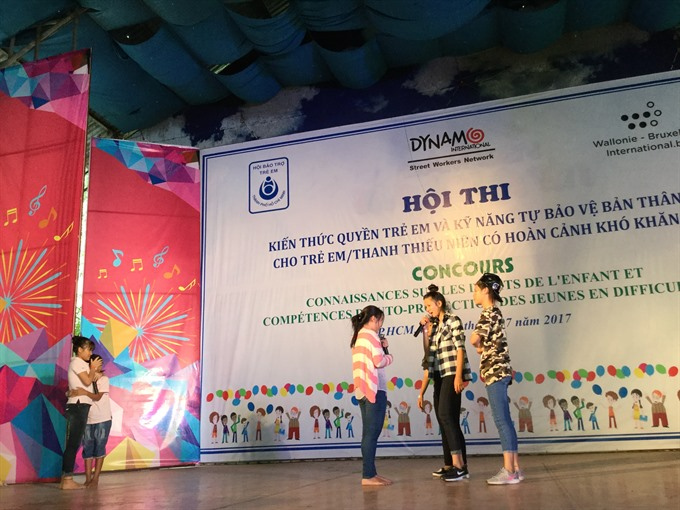 Contest teaches kids skills against sexual abuse