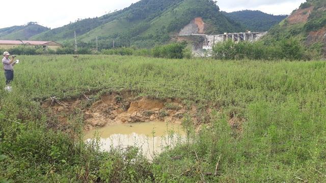 10 sinkholes appear near Quảng Bình power plant