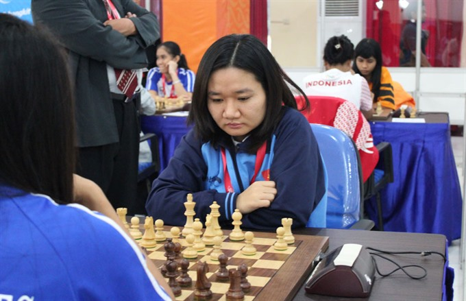 Minh wins rapid chess event