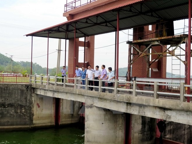 Urgent Núi Cốc Lake dam repair work proposed