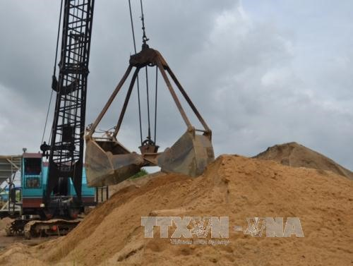 HCM City acts as construction sand prices skyrocket