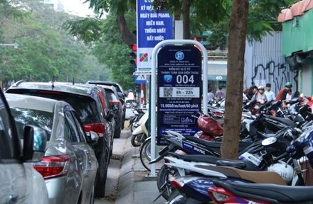 Smart parking services to be applied in four Hà Nội districts