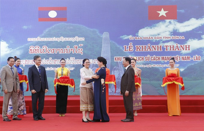 VN-Laos historical relic site inaugurated