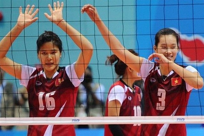 VN volleyball team gear up for SEA Games