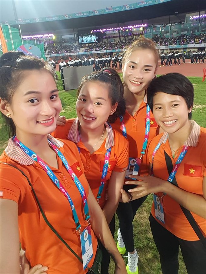 Việt Nam win silver in Asian athletics competition