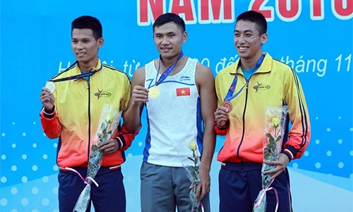 Hạnh to compete with Bolt in world champs
