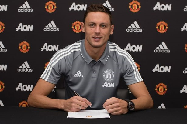 Matic and Mourinho back together at United