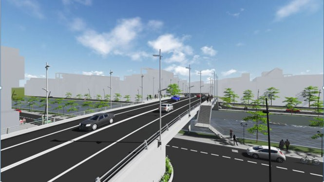 HCM City to get new Tân Kỳ Tân Quý Bridge