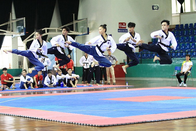 Taekwondo athletes target four golds in SEA Games