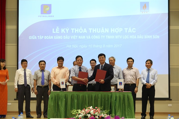 Petrolimex BSR partner to sell Dung Quất Refinerys products