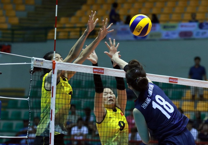 VN lose to South Korea in volleyball event