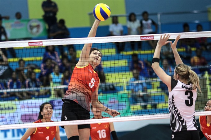VN in second round at Asian volleyball champs