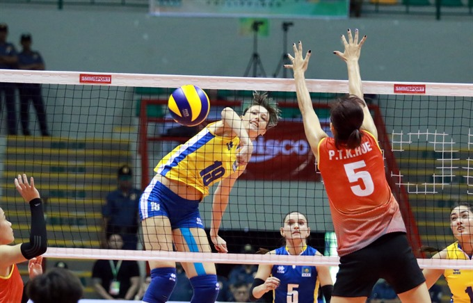 VN women lose 2 volleyball matches