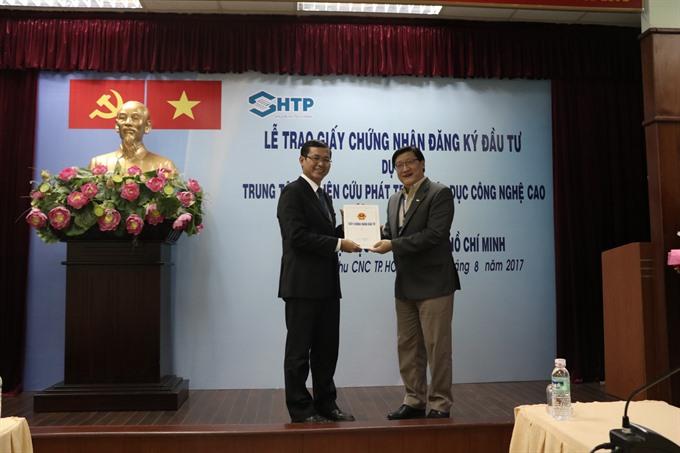 Research centre on high-tech education to be built at Sài Gòn Hi-Tech Park