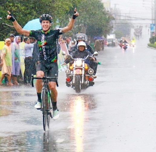 Berry wins stage of Mekong Delta event