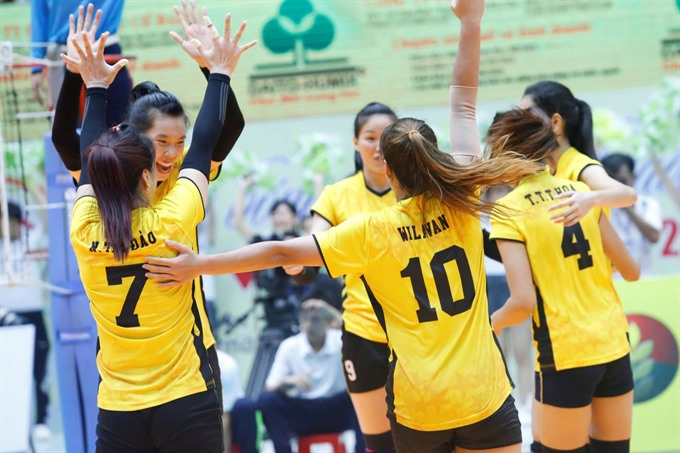 Việt Nam fifth in Asian volleyball event
