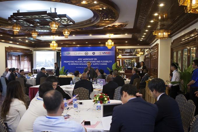 APEC meetings begin in HCM City
