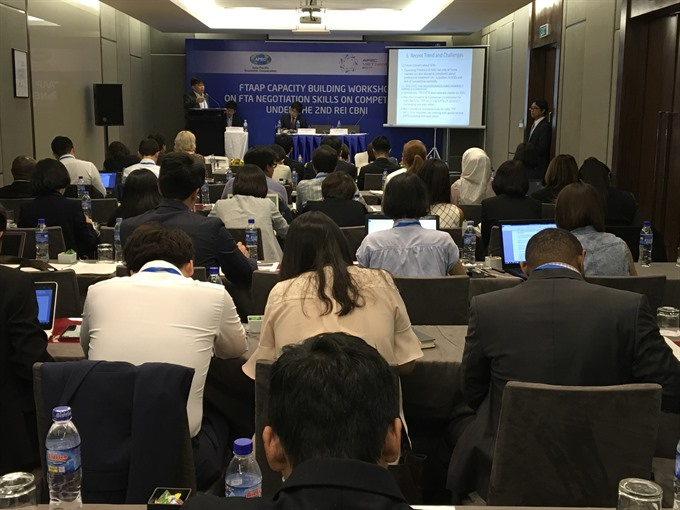 APEC members call for new competition provisions in FTAs EPAs