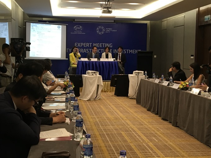 Quality infrastructure investment needed for economic growth: APEC