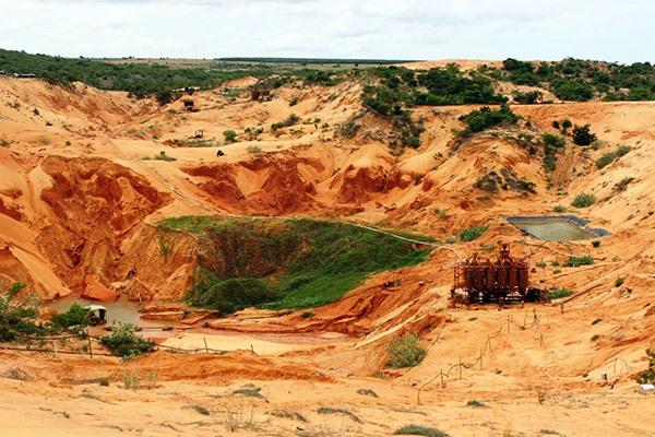 Boon turns bane: titanium mining in Bình Thuận