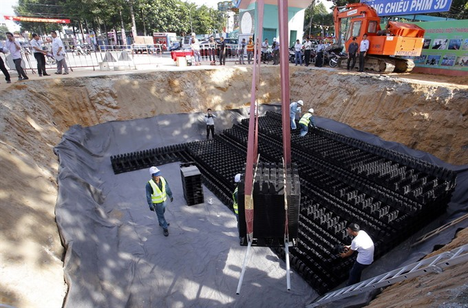 HCM City builds first reservoir with Crosswave technology