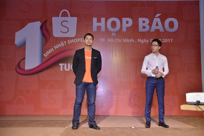 Shopee reports robust growth 1 year after entering Việt Nam