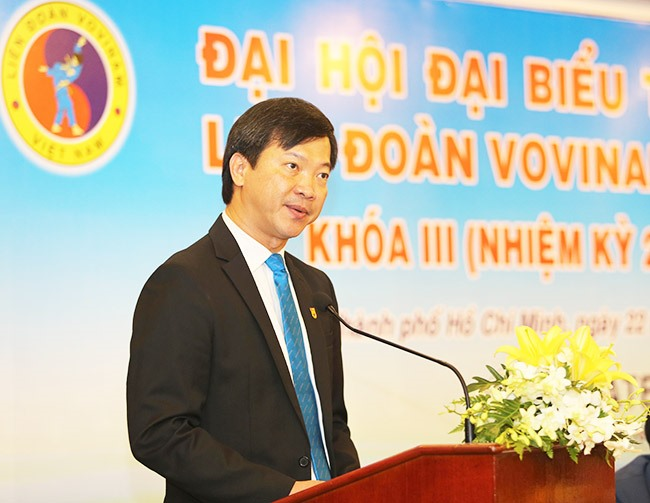 Tín selected world Vovinam federation president