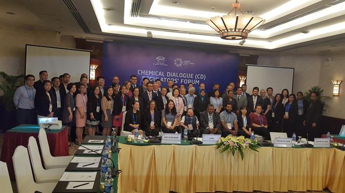 APEC discusses safe management of chemicals