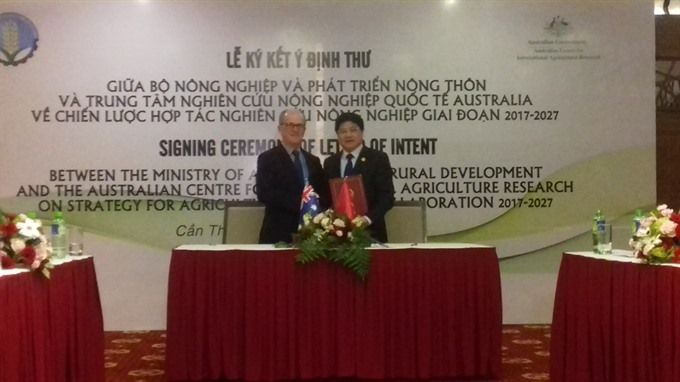 Australia and Việt Nam to collaborate in agricultural research