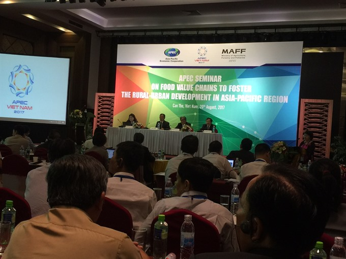 Food value chain plays important role in rural-urban development