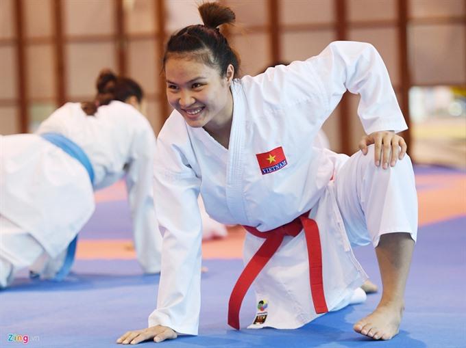 Karate athletes seek gold medals at SEA Games