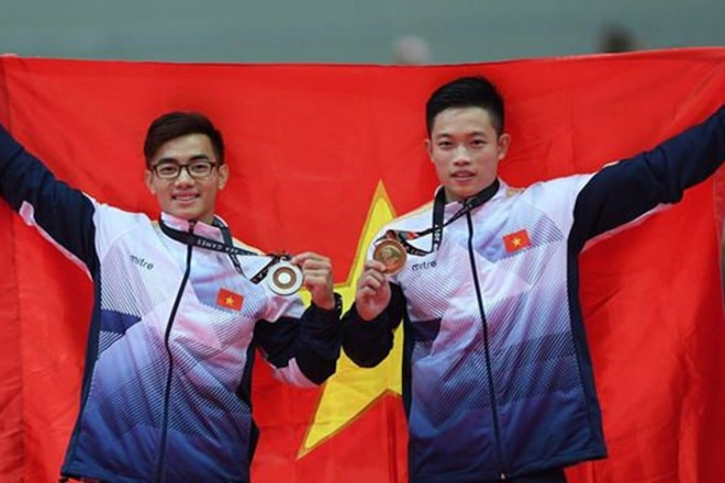 Nam secures Việt Nams first gymnastics gold