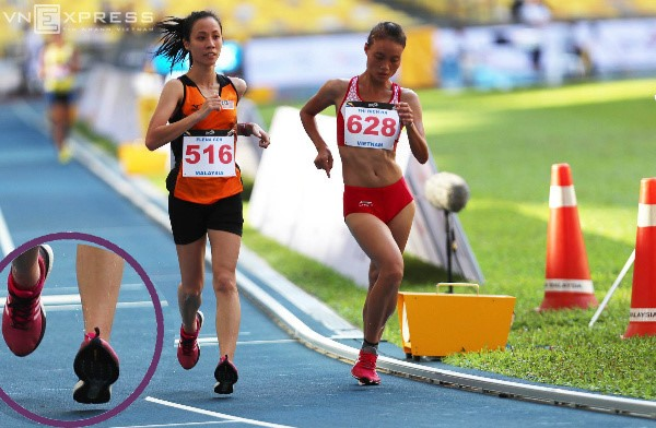 Mến jumps to SEA Games glory national record