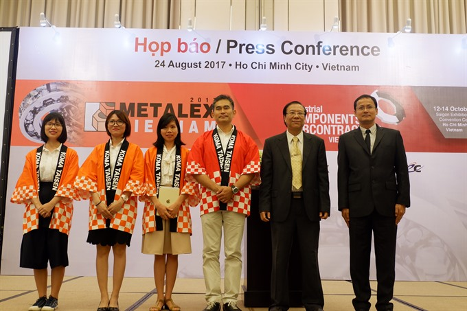 Metalex Việt Nam Exhibition to open in HCM City